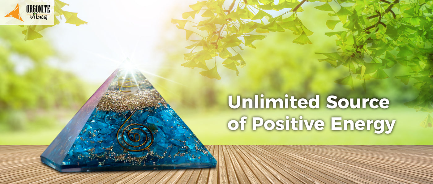 Bring in an unlimited source of positive energy to your life!