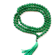 Orgonite Green Jade Japa Mala Stone Necklace