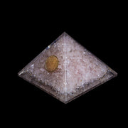 Orgonite Vibes Rose Quartz for Love Pyramid