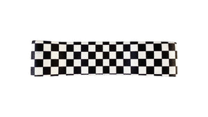 B&W Checkered Small Loop Band / Medium Resistance