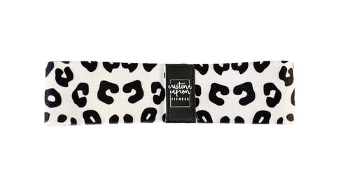 B&W Leopard Small Loop Band / Light Resistance