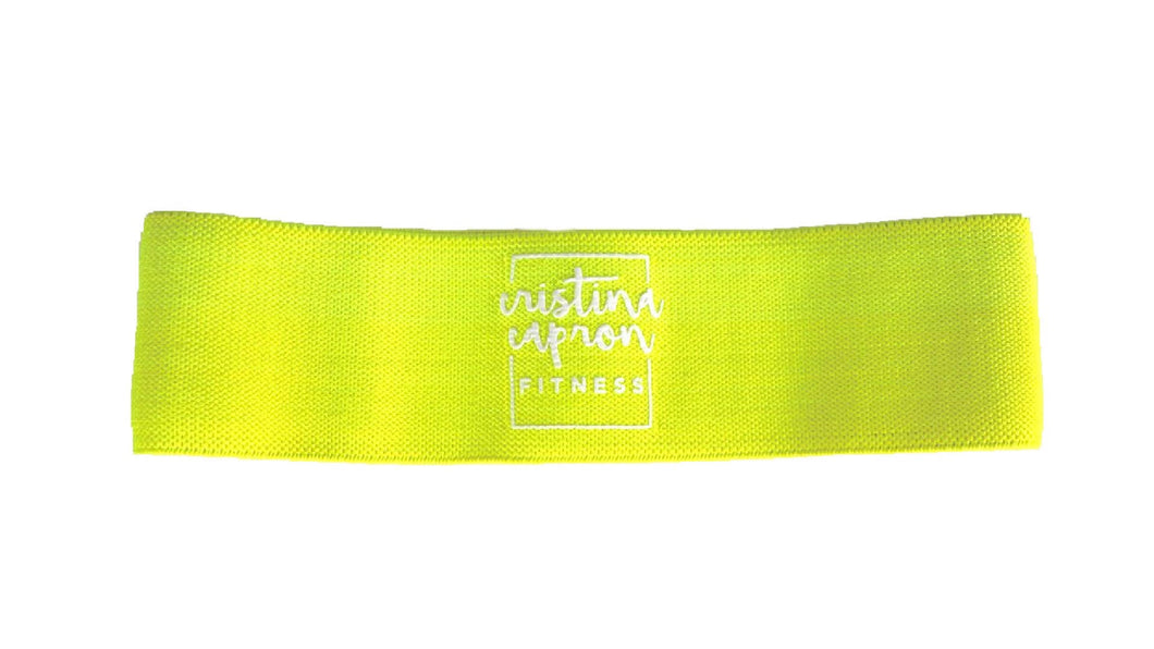 Neon Yellow Small Loop Band / Light Resistance