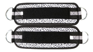Speckled Ankle Straps (Pair)