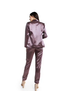 Satin suit set