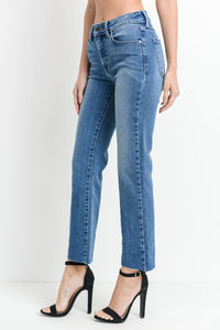 Denim High Rise Flare Jeans - John and Suki