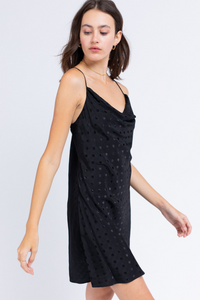 Dottie Black Mini Dress - John and Suki
