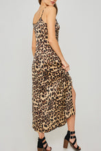 Load image into Gallery viewer, Dorothy Leopard Slip Maxi Dress - John and Suki