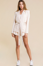 Load image into Gallery viewer, Blush Crush Satin Blazer - John and Suki