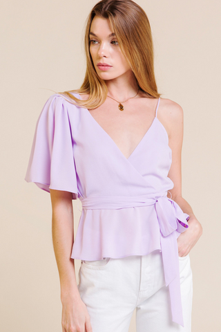 Almost Lover Lavender Blouse - John and Suki