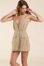 Load image into Gallery viewer, Safari Khaki Dress - John and Suki