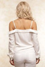 Load image into Gallery viewer, Hayley Off The Shoulder Shirt - John and Suki