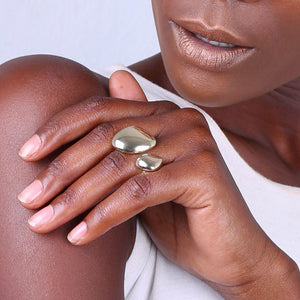 Sabi Statement Ring - John and Suki