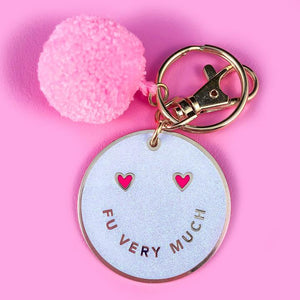 FU Very Much Keychain - John and Suki