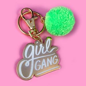 Girl Gang Keychain - John and Suki