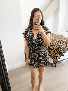 Spice Up Your Life Leopard Romper
