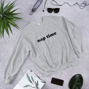 Nap Time Sweatshirt - John and Suki
