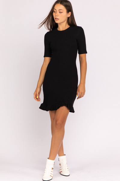 Ruffled Feathers Mini Dress - John and Suki