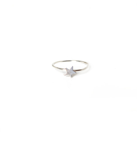 Silver Star Ring - John and Suki