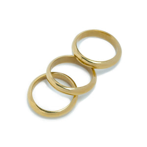 Round Stacking Ring - John and Suki
