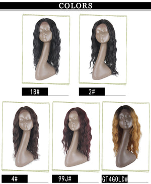 LAURA | Synthetic Long Wig (Lace Front) | 5 Colors - Wig Experts