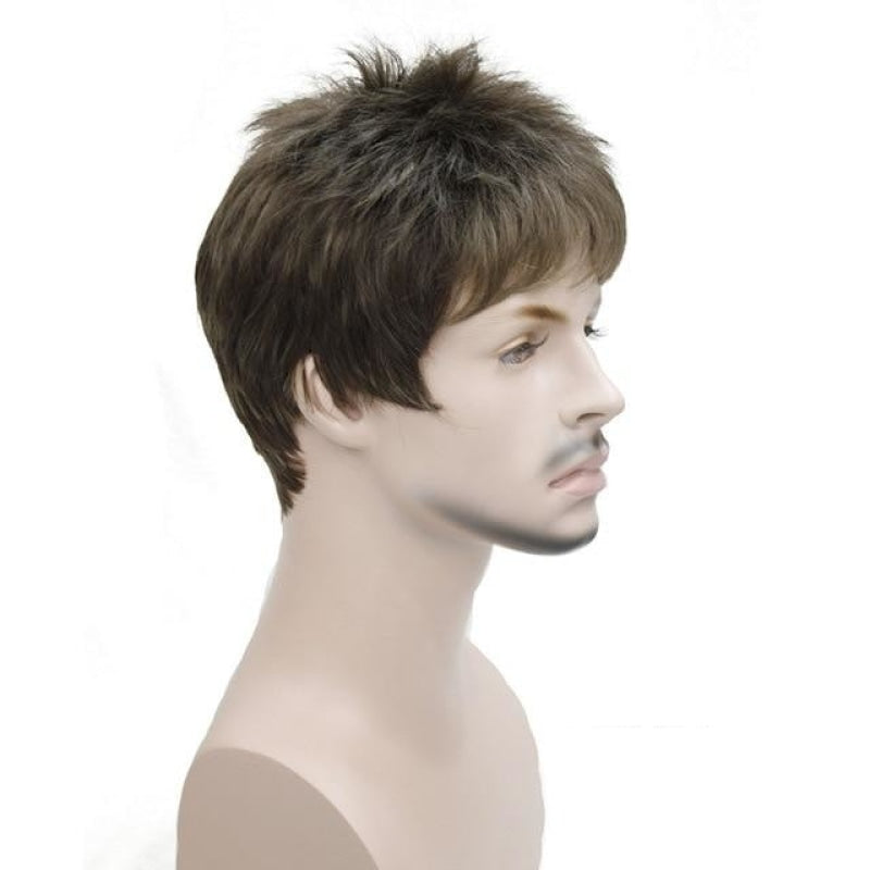 Tony | Short Synthetic Wig | 7 Colors - Wig Experts