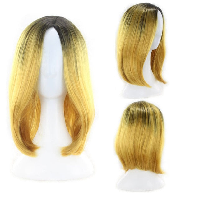 MICKY | Short Synthetic Wig  (Basic Hairline) | 7 Colors - Wig Experts