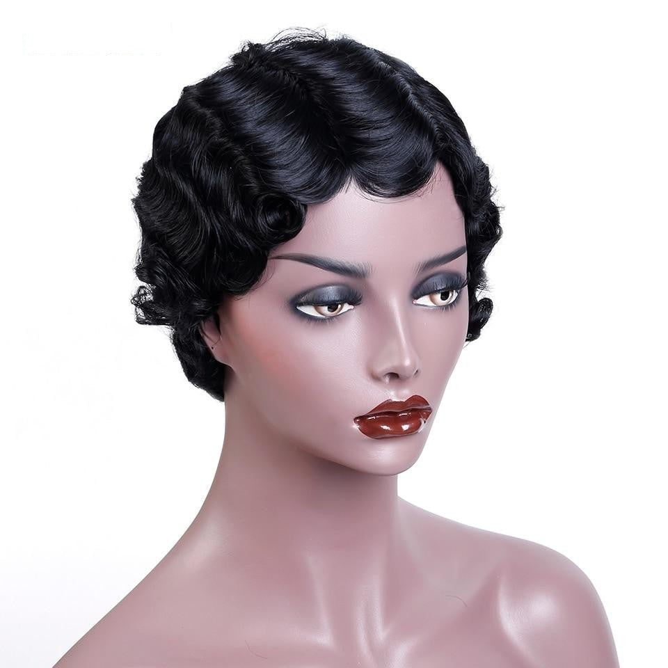 KAMILA | Synthetic Short Wig (Basic Hairline) - Wig Experts
