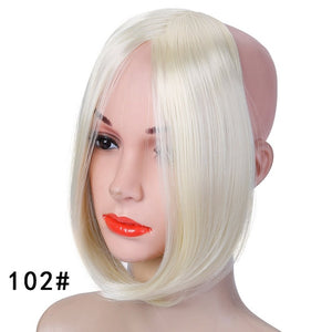 Clip-In Hair Extension Fringe/Bang | Synthetic Hair | 8 Colors - Wig Experts