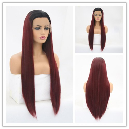 KIM | Synthetic Long Wig (Lace Front) | 8 Color - Wig Experts