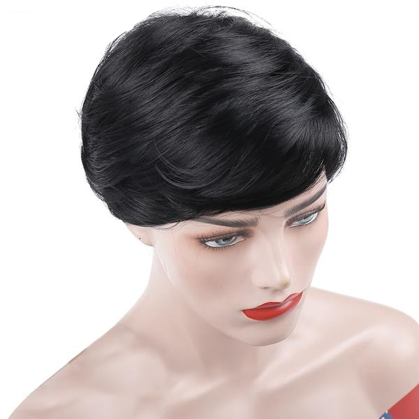 RUBY | Synthetic Short Wig (Basic Hairline) - Wig Experts