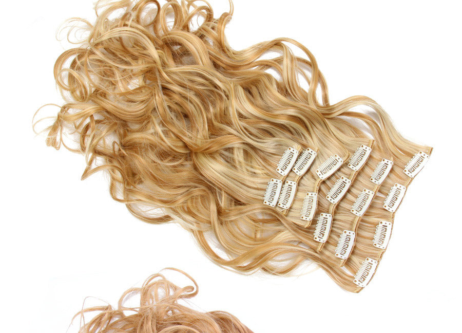 "22"" Wavy Synthetic Hair Extension ( 6 Pieces ) 