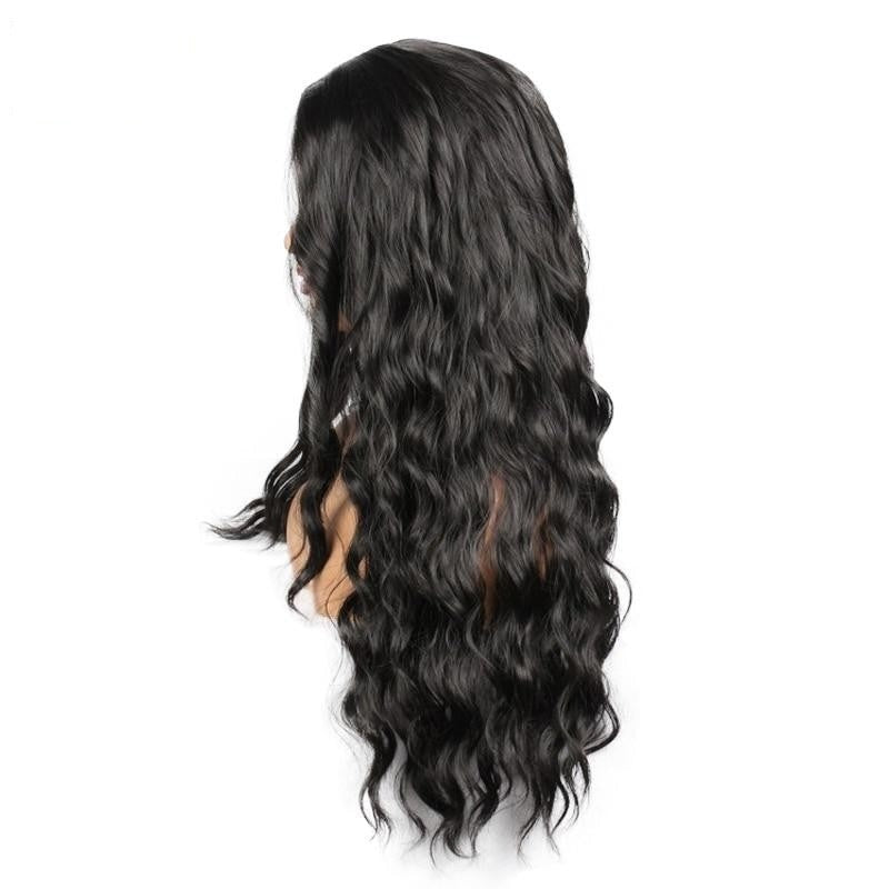 Lavanya | Wavy Synthetic Wig | Natural Black - Wig Experts