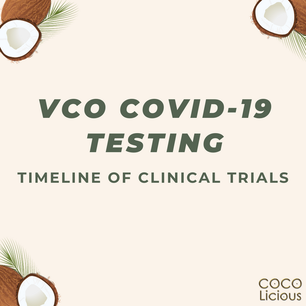 VCO Clinical Trials on Covid-19 Patients Timeline
