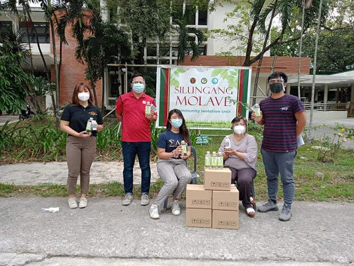 Community Isolation Facility in UP Diliman gets VCO