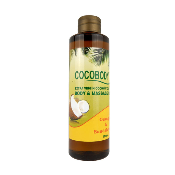 Body & Massage Oil Orange and Sandalwood
