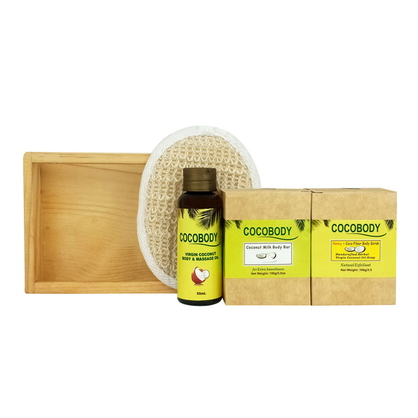 Cocobody, Plain Basis Giftset