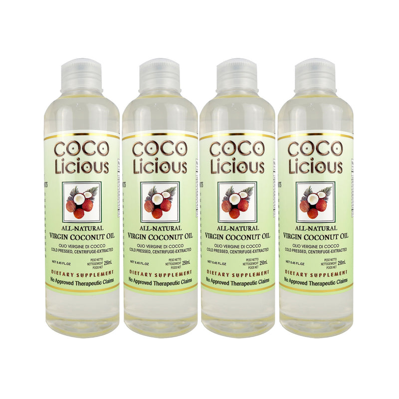 Virgin Coconut Oil 250ml x4