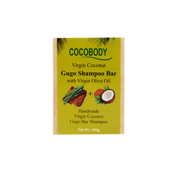Cocobody, Gugo Bar Shampoo with Virgin Coconut 100g
