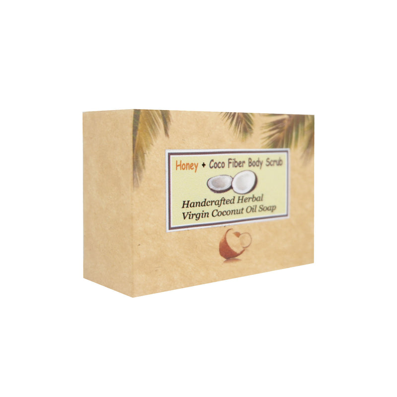 Virgin Coconut Handcrafted Soap Cocofiber 100g
