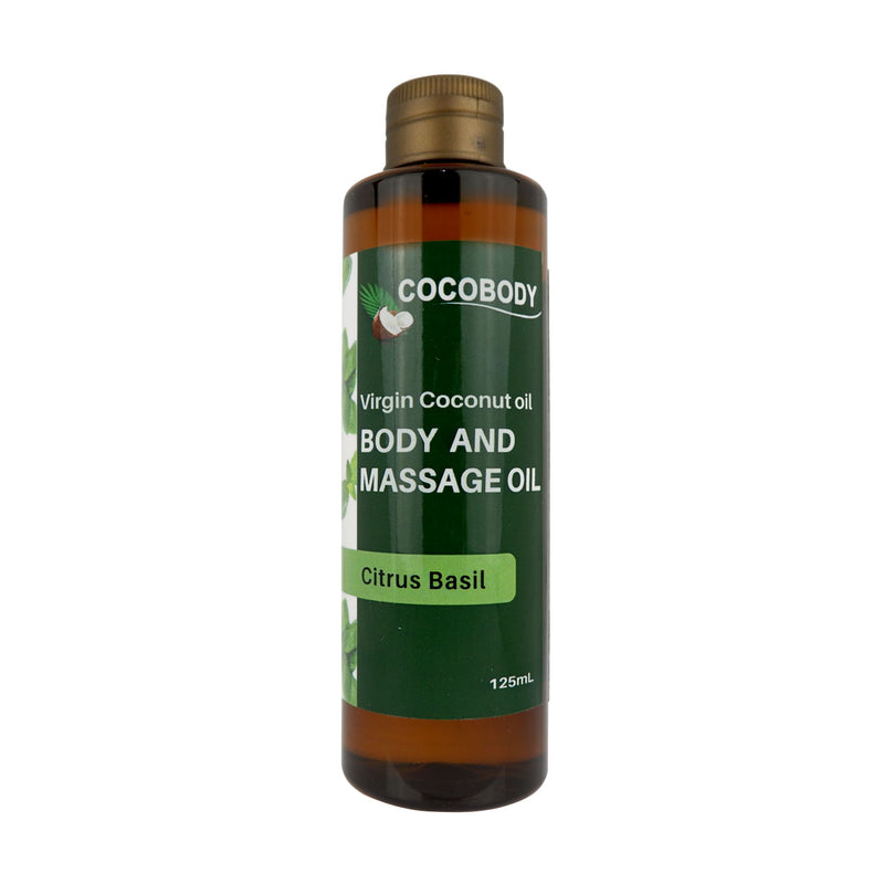 Body & Massage Oil Citrus and Basil
