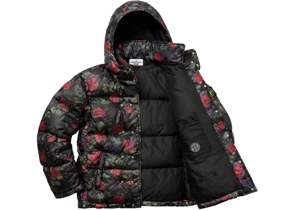 STONE ISLAND LAMY COVER STAMPATO PUFFY PUFFER JACKET