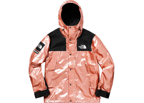 The North Face Metallic Mountain Parka Rose Gold