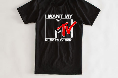 I Want My MTV Vintage T Shirt