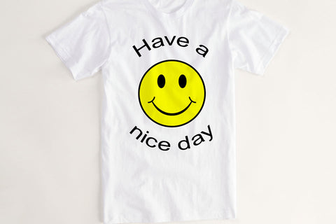 Have a Nice Day Bag Shirt Vintage T Shirt