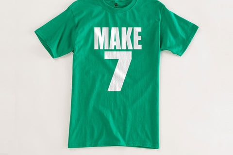 Make 7 Seven Up Vintage T Shirt