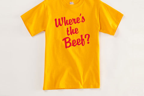 Wendy's Where's The Beef? Vintage T Shirt