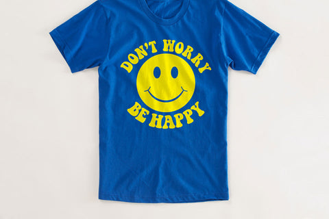 Don't Worry Be Happy Vintage T Shirt