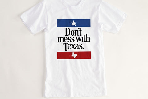 Don't Mess with Texas Vintage T Shirt