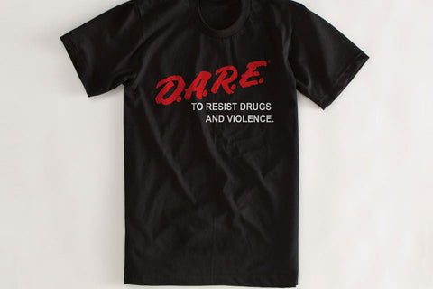 D.A.R.E. Dare to Resist Drugs and Violence Vintage T Shirt