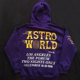Travis Scott LA Purple Astroworld Hoodie